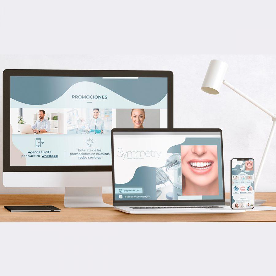Diseño Web Symmetry